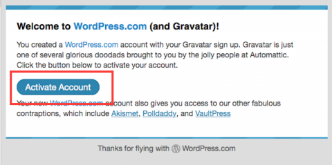 guravatarのアカウント承認画面